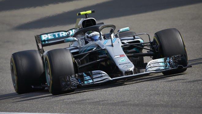 Valtteri Bottas s Mercedesem W09