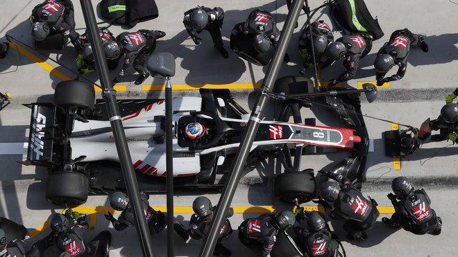 Haasu se vstup do sezony moc díky smůle nevydařil, auto má ale dobré