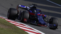 Brendon Hartley v závodě v Číně