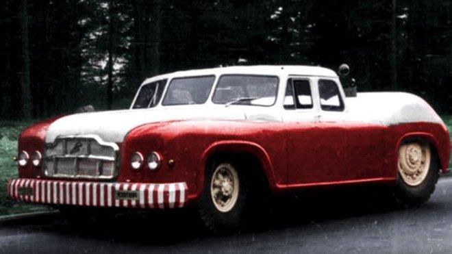 MAZ-541 (kolorovaná fotografie)