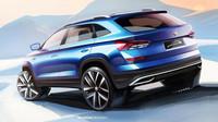 První skicy nového SUV pro Čínu Škoda Kamiq přicházejí v momentě, kdy už známe reálné tvary vozu