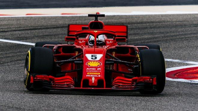 Sebastian Vettel chce ve Španělsku vyhrát