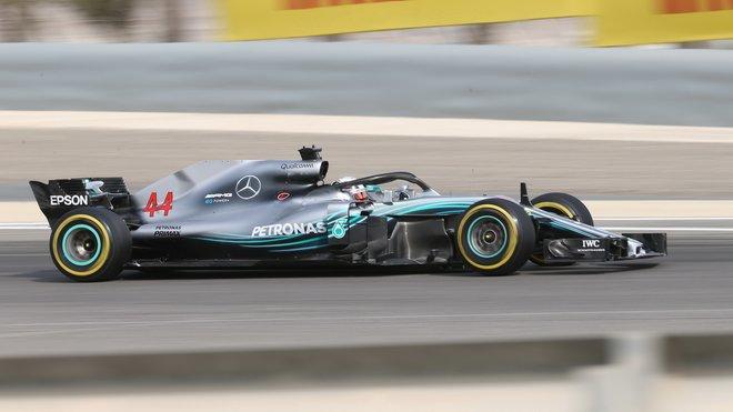 Lewis Hamilton s Mercedesem W09