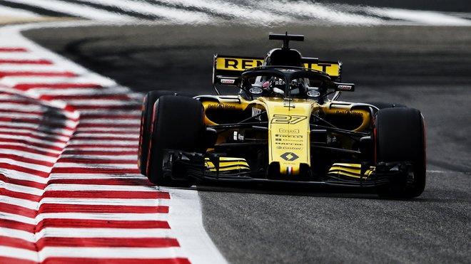 Nico Hülkenberg s Renaultem