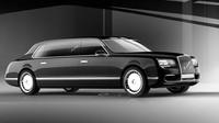 Nové auto pro Putina? Ruská luxusní limuzína je trezor na kolech - anotační foto
