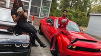 Známý raper se svým novým vozem