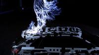Prototyp Audi e-tron dostal několik zásahů bleskem