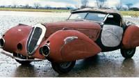 Pražský Delahaye 135 M Cabriolet s karoserií Figoni & Falaschi