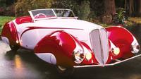 Z pražské garáže mezi nejcennější vozy světa. Delahaye 135 M Cabriolet uchvátil svět - anotační foto