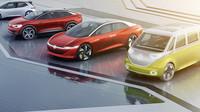 Paleta elektrických konceptů Volkswagen I.D.