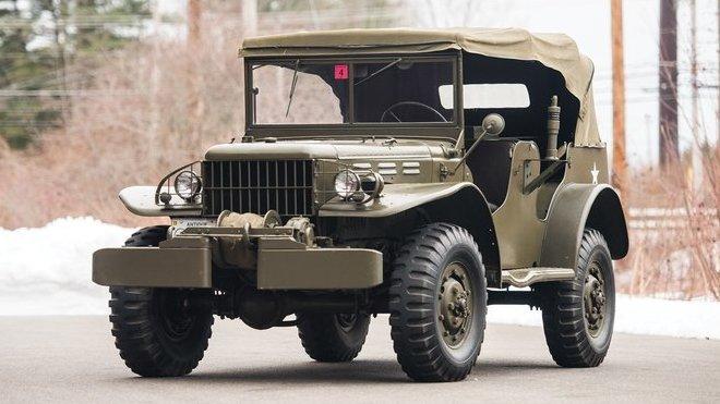 Dodge WC - rádiový vůz