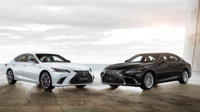 Nový Lexus ES a ES F Sport