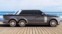 Range Rover se proměnil v Superyacht Land Tender (SLT) 6x6