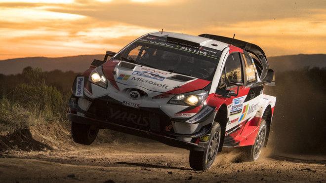 Tänak v Argentině získal pro Toyotou letošní první vítězství