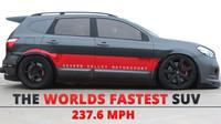 Nissan Qashqai-R, nejrychlejší SUV světa