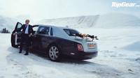 Moderátoři Top Gearu vyzkoušeli nový Rolls-Royce Phantom na cestě z Goodwoodu do luxusního lyžařského střediska Courchevel