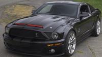 Ford Mustang GT upravený do podoby Shelby GT500KR, který měl být použit během natáčení seriálu Knight Rider - Legenda se vrací