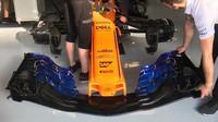 Nové přední křídlo pro vůz McLaren je ve Španělsku