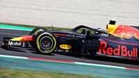 Daniel Ricciardo v tréninku ve Španělsku