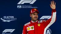 Sebastian Vettel po kvalifikaci ve Španělsku