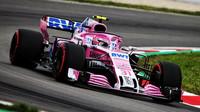 Esteban Ocon s Force Indií byl na rovikách nejrychlejší