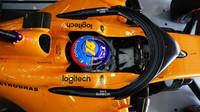 Fernando Alonso v kvalifikaci ve Španělsku
