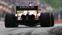 Stoffel Vandoorne v závodě ve Španělsku