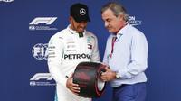 Lewis Hamilton po úspěšné kvalifikaci ve Španělsku
