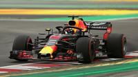 Daniel Ricciardo v kvalifikaci ve Španělsku