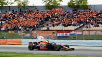 Max Verstappen v závodě ve Španělsku