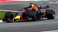 Daniel Ricciardo v závodě ve Španělsku