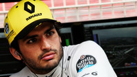 Carlos Sainz v kvalifikaci ve Španělsku