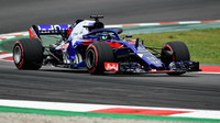 Brendon Hartley v kvalifikaci ve Španělsku