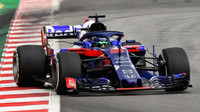 Brendon Hartley v závodě ve Španělsku