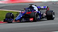 Brendon Hartley v závodě ve Španělsku
