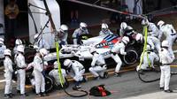 Sergej Sirotkin v závodě ve Španělsku