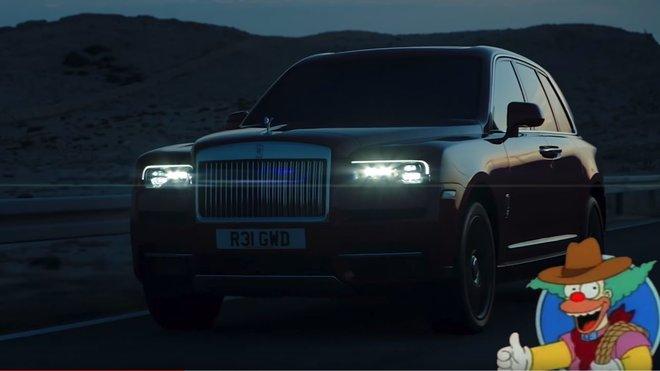 Rolls-Royce Cullinan jako Canyonero