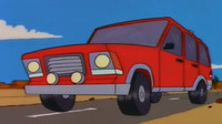 SUV Canyonero z animovaného seriálu The Simpsons