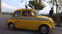 Fiat 500 se díky svým kompaktním rozměrům neztratí ani ve stísněných uličkách italských historických měst