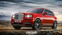 """Rolls-Royce Cullinan v úpravách X-Tomi Design: ShootingBrake s tradičními """"sebevražednými"""" dveřmi"""