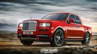 Rolls-Royce Cullinan v úpravách X-Tomi Design: Pick-up s čtyřdveřovou kabinou