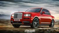 Rolls-Royce Cullinan v úpravách X-Tomi Design: Kupé (s poněkud zvláštně tvarovanou zadní částí)