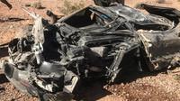 Kompletně zničený McLaren 720S dokonale ochránil svou posádku