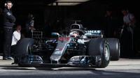 Hamilton odpoledne nejrychlejší, Bottas skončil předčasně. Red Bully ztrácejí 0,7 sekundy - anotační foto
