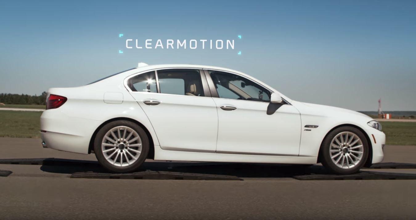Prezentace schopností revolučního podvozku Clearmotion