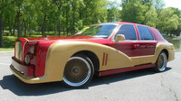 Lincoln Town Car převlečený za Rolls-Royce Phantom