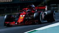 Sebastian Vettel s Ferrari měl v závodě jasně navrch