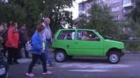 Přestavěný VAZ-1111 Oka se může pochlubit čistě ekologickým pohonem