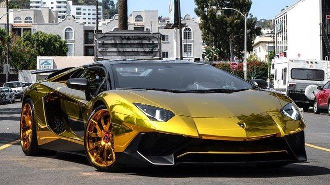 Unikátní Lamborghini Aventador Chrise Browna