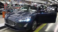 Výroba nové generace Fordu Focus v německém závodě Saarlouis